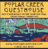 FALL IS HERE, Poplar Creek and Canoe Outfitting