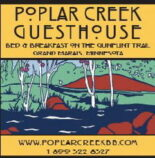 Specials, Poplar Creek and Canoe Outfitting